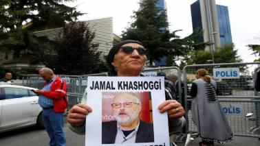 White House says 'saddened' to hear Khashoggi's death
