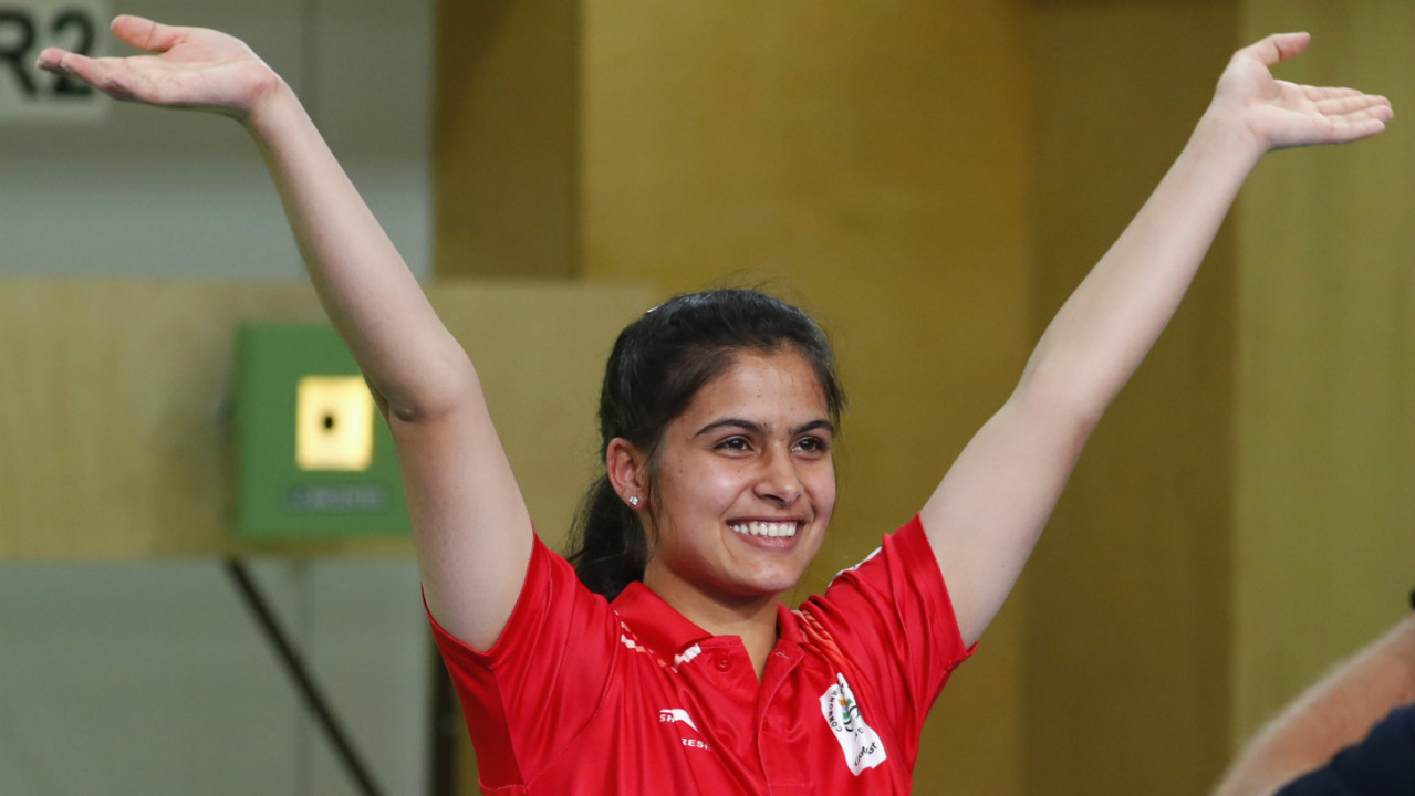 Manu Bhaker | Gold (10m Air Pistol) | The World Cup and Commonwealth Games gold medallist overcame her recent dip in form to clinch Gold with a total score of 236.5. Bhaker failed to pick up any medals at this year's Asian Games and World Championships, but bounced back in style becoming the first Indian shooter to win gold at the Youth Asian Games. (Image: Reuters)