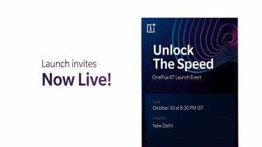 OnePlus selling OnePlus 6T's launch event passes at Rs 999 including exclusive merchandise
