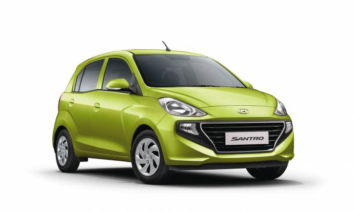 Hyundai chose the name Santro, earlier codenamed AH2, after an overwhelming 66.6 percent of the 5 lakh respondents voted for it in a naming competition. Hyundai spent $100 million in building the car over a period of three years. It is the first major product from Hyundai R&D unit in Hyderabad