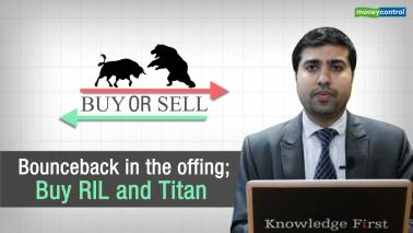 Buy or Sell | Rebound in the offing; Buy RIL and Titan