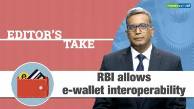 RBI allows e-wallet interoperability