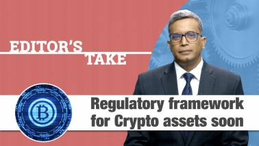 Holding Crypto Assets could be punishable under Law
