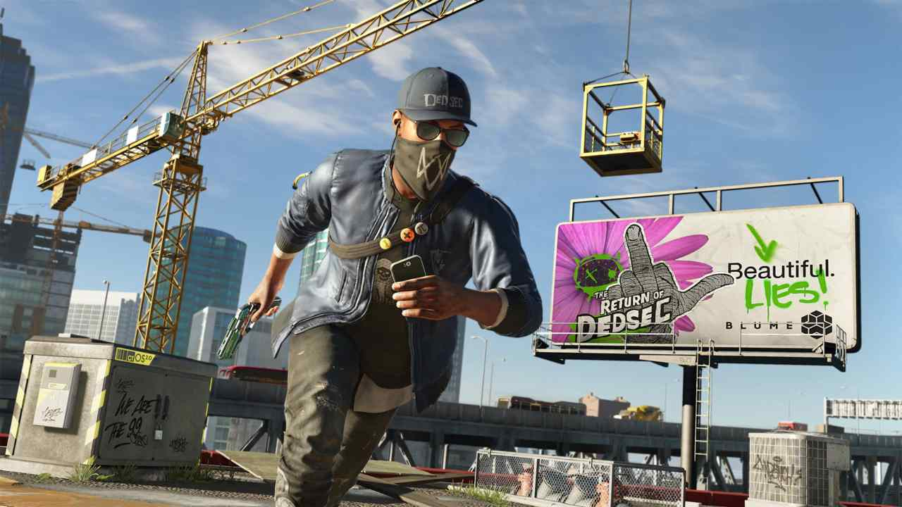 Watch Dogs 2 | PS4, Xbox One and PC | While the original Watch Dog game's uninspired storyline amassed criticism from open world enthusiasts, Ubisoft redeemed itself with a stunning sequel. Watch Dogs 2 is more in the tone of contemporary GTA titles, so much so that the entire game seems like a blow out version of the Life Invader mission from GTA 5. (Image: Ubisoft)