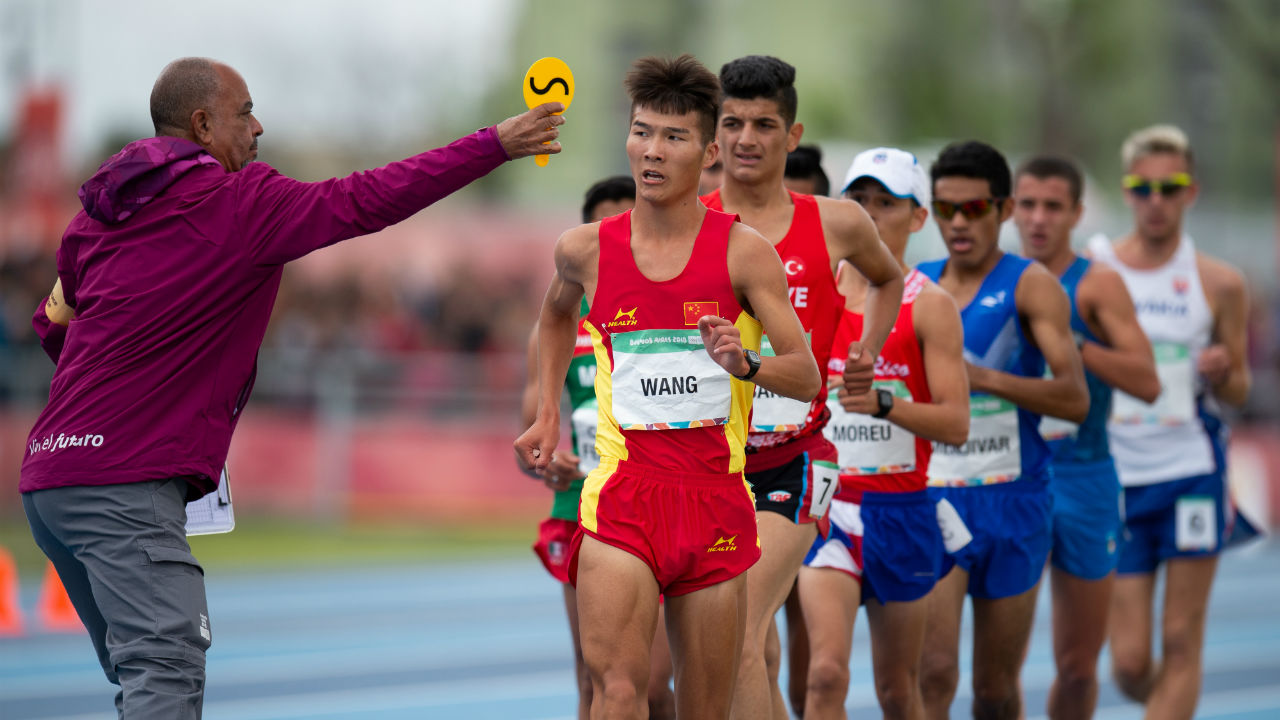Suraj Panwar – Silver (5000m Walk) | Panwar became the first Indian athlete at the 2018 Youth Olympics and third across all editions to win a silver medal. He did so with a personal best timing of 20.35.87 in the first stage of the 5000m race and improved on that with 20.23.30 in the second stage to bag the silver medal. (Image: Reuters - for representational purposes only)