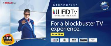 LLOYD brings ultra happiness to viewers with its first ever ULED TV
