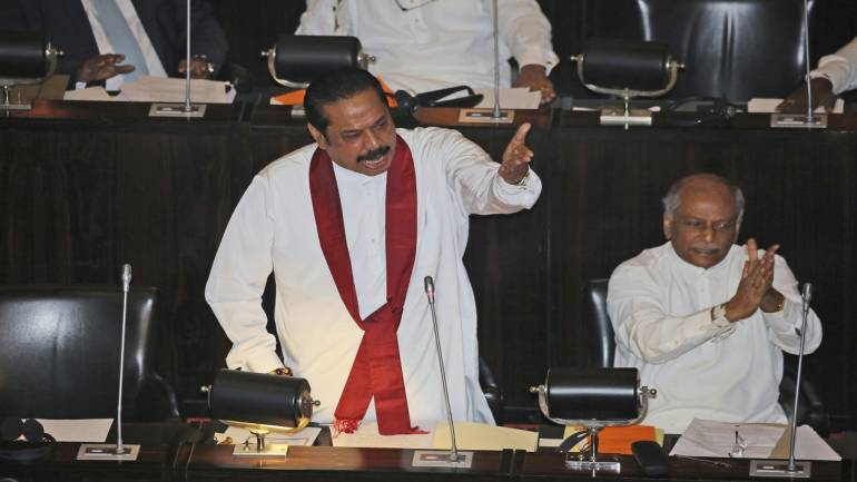 Image result for Floor Test होने के बाद श्रीलंका की संसद के स्पीकर ने कि ये घोषणा