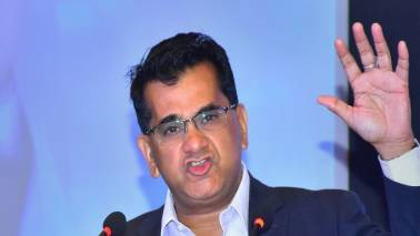 Amitabh Kant pitches for ban on usage of fossil fuel-based gensets