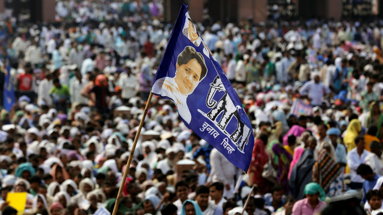In the 2013 elections, the vote share difference between the BJP and the Congress was 8.5 percent. BSP's vote share was 6.29 percent. Going by the numbers, BSP would have added considerable weight to the Congress chances this time. (Image: Reuters)
