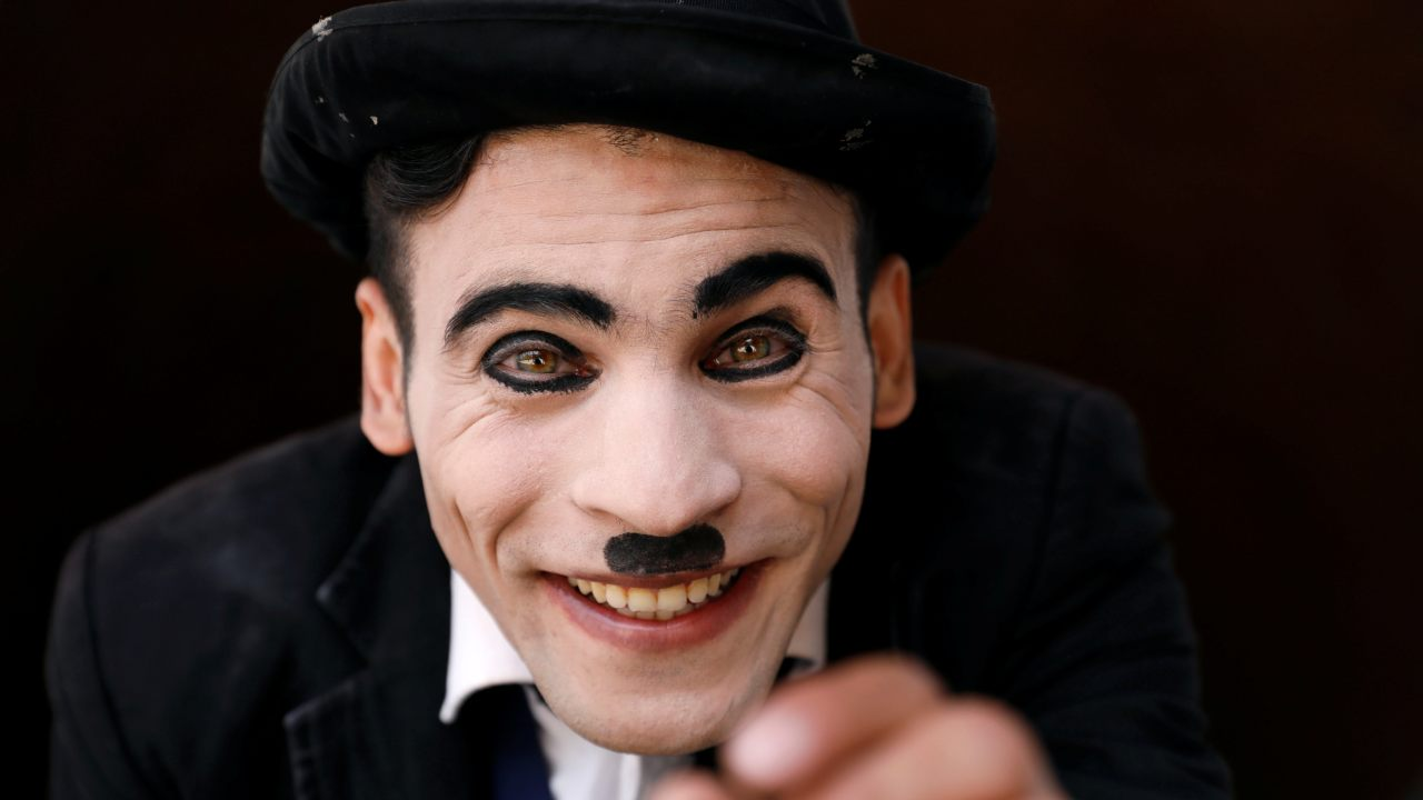 Answer: Charlie Chaplin. (Image: Reuters)