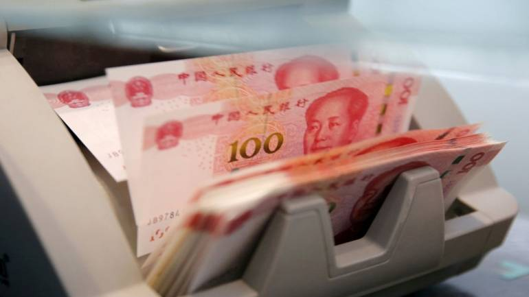 Offshore yuan hits record low after US brands China a currency manipulator