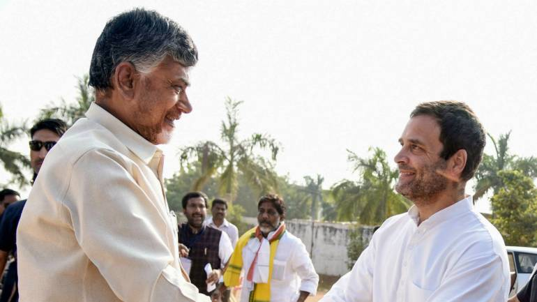 Our aim is to fight for people's voice in Telangana: Rahul Gandhi on tie-up  with Chandrababu Naidu