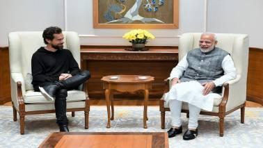 Twitter CEO Jack Dorsey meets Narendra Modi