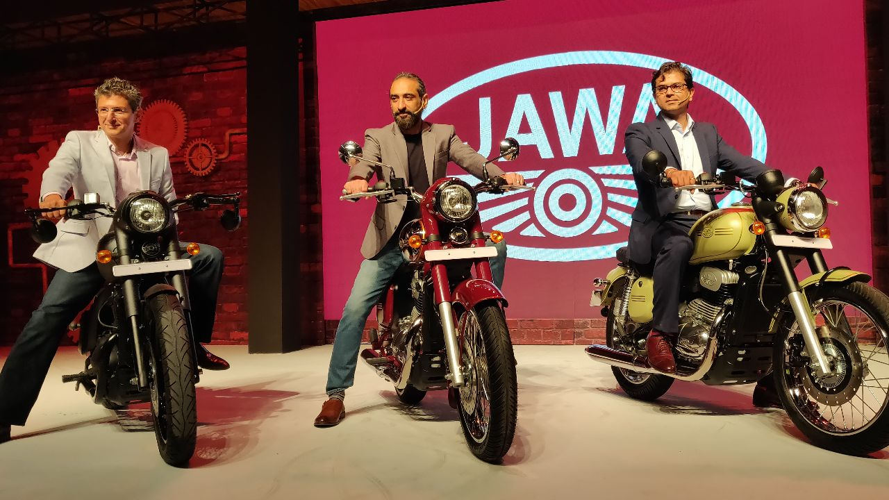The iconic bike maker will roll out Jawa, Jawa Forty Two early next year, while the costlier Perak will make it way to the roads later in the year. Booking for the Jawa and Forty Two will begin from November 16. (Image: Stanford Masters)
