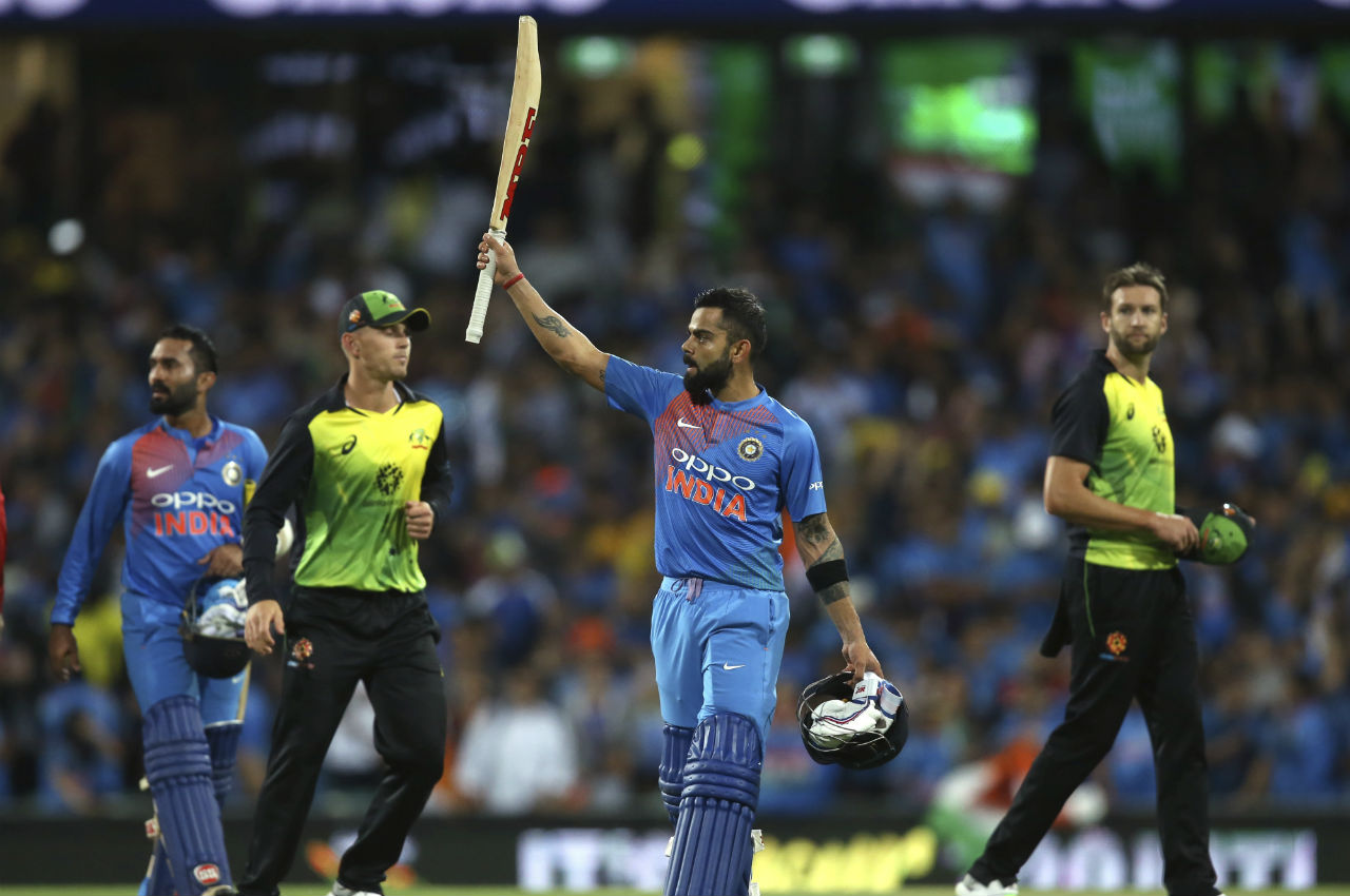 Australia opt to bowl in first India T20