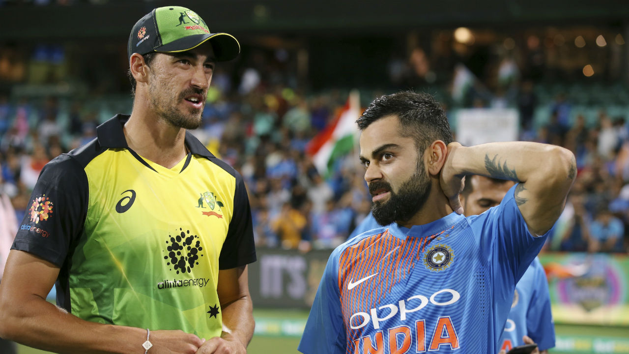 Rains deprive India of T20I series win | Rains played a major role in the first two T20Is as India lost the first match by 4 runs on DLS method, and were deprived of a chance to level the series after bowling the Aussies out for a paltry 132 in the next game. With the second match abandoned, India registered a dominant 6-wicket win in the final T20I to finish the series 1-1. (Image: AP)