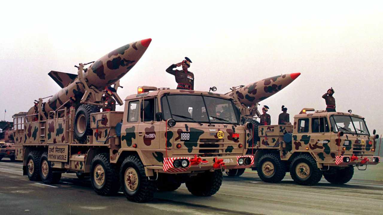 7. India | Total nuclear weapons: 140 | Total nuclear tests: 3 | First tested: 1974 | Most recent test: May 1998 (Image: Reuters)