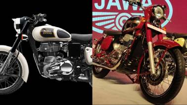 Jawa vs Royal Enfield Classic 350: Tech specs compared