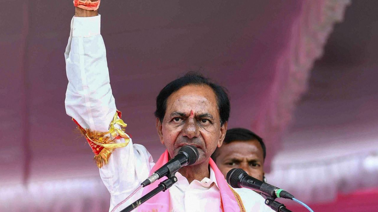 Telangana Chief Minister K Chandrashekar Rao will also be giving the grand event at Rashtrapati Bhavan a miss. He attended Jagan Mohan Reddy's swearing-in ceremony today and was scheduled to fly by a special flight to New Delhi, according to reports. However, Rao attended a lunch hosted by his Andhra counterpart, Jagan Mohan Reddy instead, reports suggest.