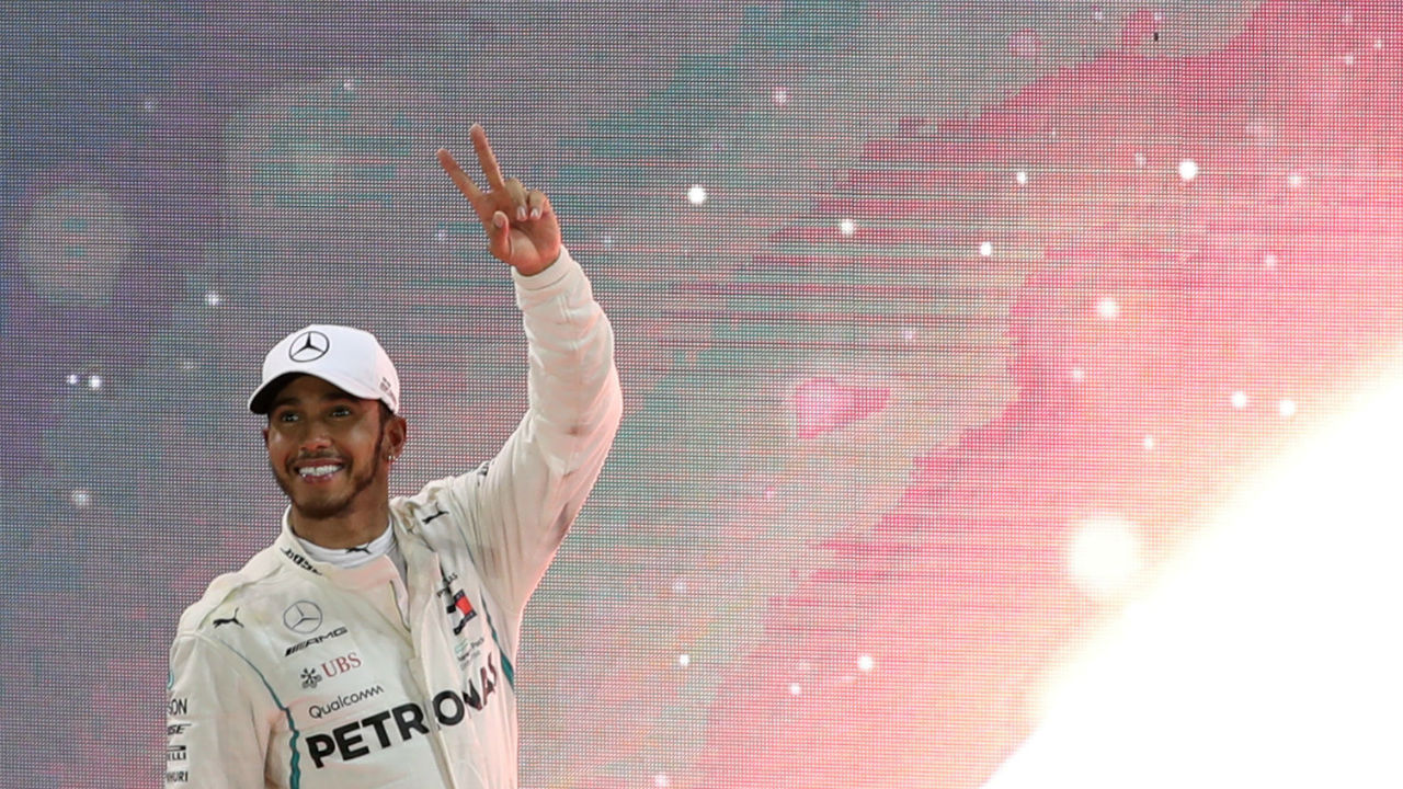 Formula-1 season came to an end with the season ending Abu Dhabi Grand Prix at the Yas Marina circuit. British Driver Lewis Hamilton-having already sealed the driver's championship- won the last race with a time of 1:39:49.382. Lewis' team, Mercedes cliched the constructor's championship thus winning the title for five seasons in a row. (Image: Reuters)