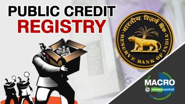 Why is RBI's public credit registry important?