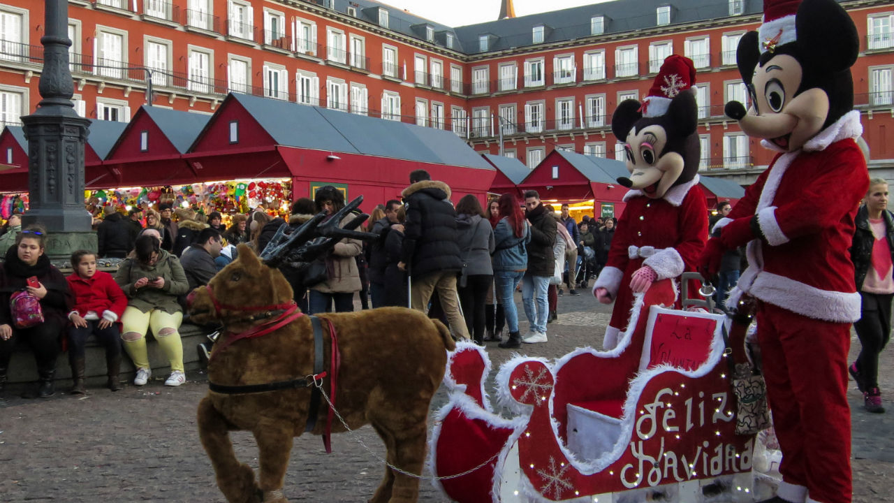 Mickey Mouse is said to be more recognisable around the globe than Santa Claus. (Image: Reuters)