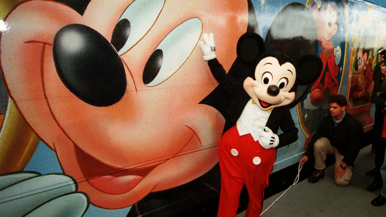 Mickey Mouse is the most popular write-in candidate at voting booths in the US. (Image: Reuters)