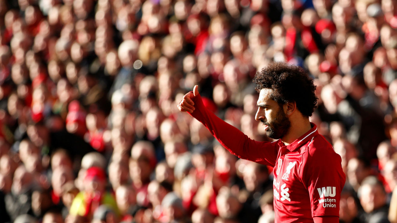 Mohamed Salah (Liverpool)| Goals scored - 6| Assists - 3| Minutes played - 1033| Minutes per goal - 172 (Image: Reuters)