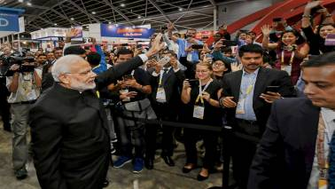 Prime Minister Modi launches APIX technology in Singapore