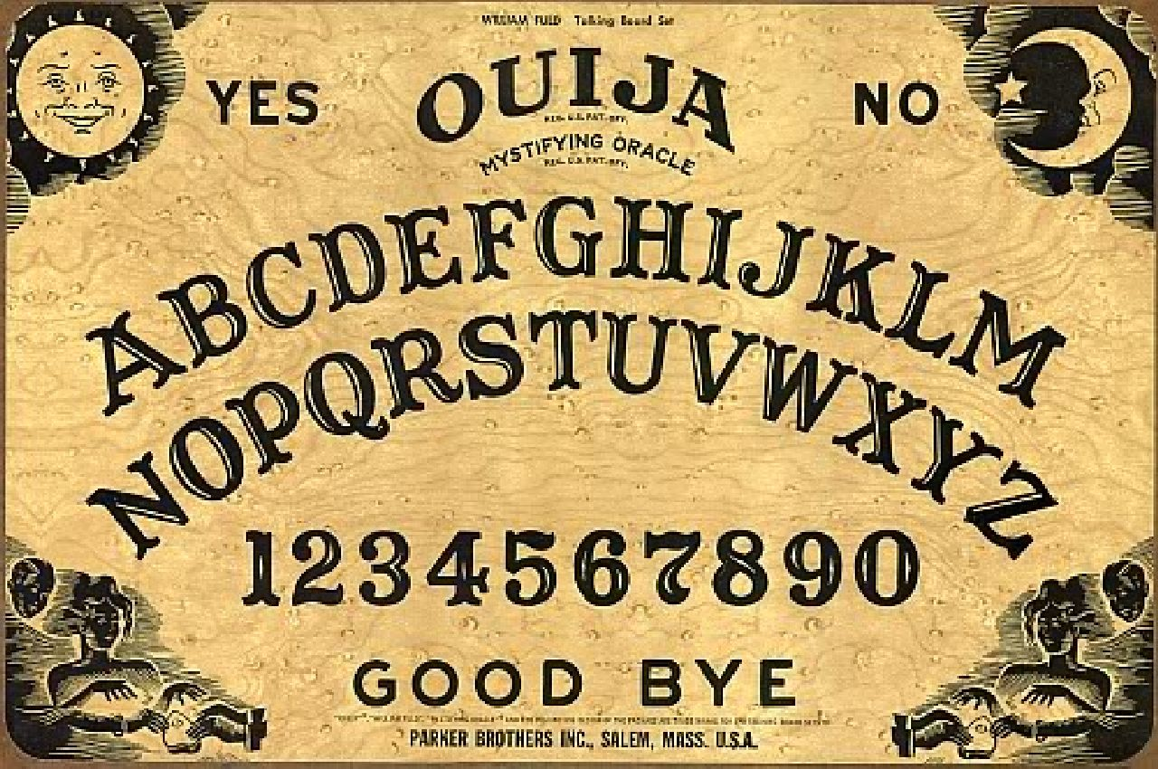 Answer: Ouija Board (Wikimdia Commons)