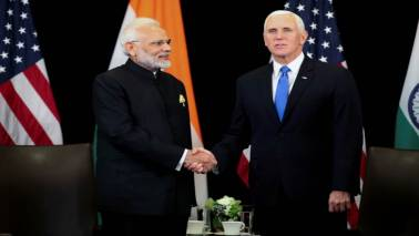 East Asia Summit: PM Modi meets US Vice President Mike Pence in Singapore