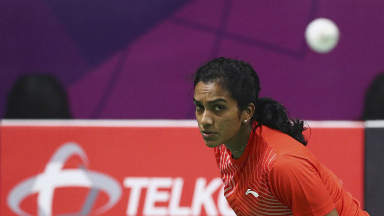Hong Kong Super 500 (Badminton) | Olympic Bronze medalist PV Sindhu progressed into the second round of the Hong Kong Open World Tour Super 500 Tournament. Sindhu recovered from a mid game slump to surpass Thailand's Nitchaon Jindapol 21-15, 13-21, 21-17. Sindhu's fellow country woman Saina Nehwal went down 10-21 , 21-10 , 21-19 to Akane Yamaguchi of Japan. (Image: Reuters)