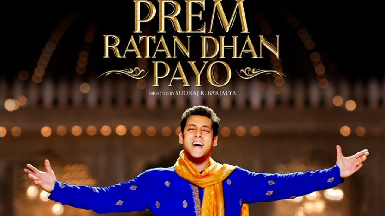 Year: 2015 | Film: Prem Ratan Dhan Payo | Budget: Rs 180 crore | Box office collection: Rs 395 crore (Image: Twitter)
