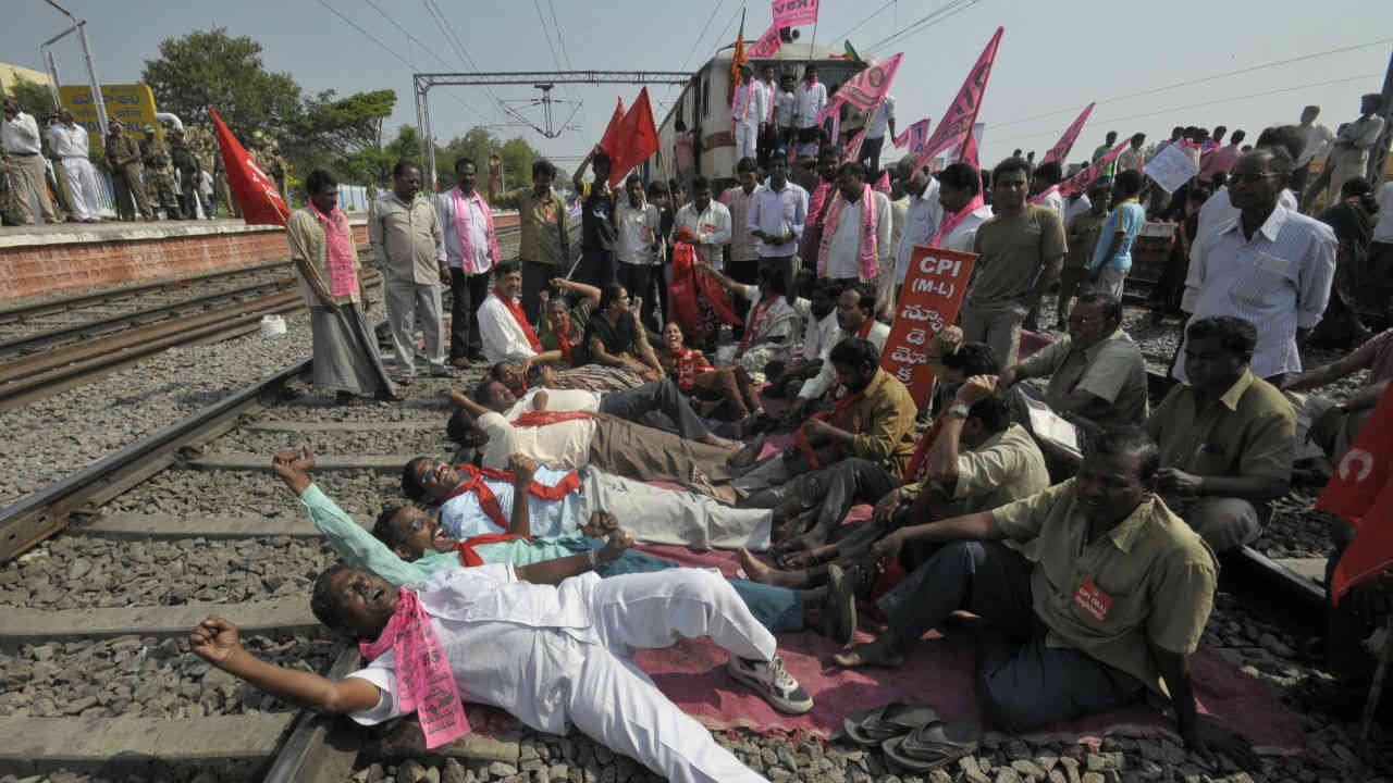 In 2001, Telangana Rashtra Samithi (TRS) was formed by K Chandrashekar Rao (KCR) with a single-point agenda of creating a separate Telangana state. The party continued the efforts to pave the way for inclusion of Telangana issue by the central UPA government in the common minimum programme in 2004. (Reuters)