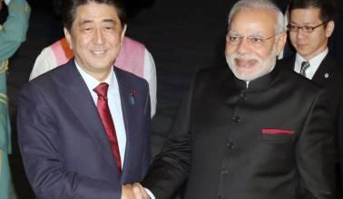 PM Modi holds talks with Shinzo Abe