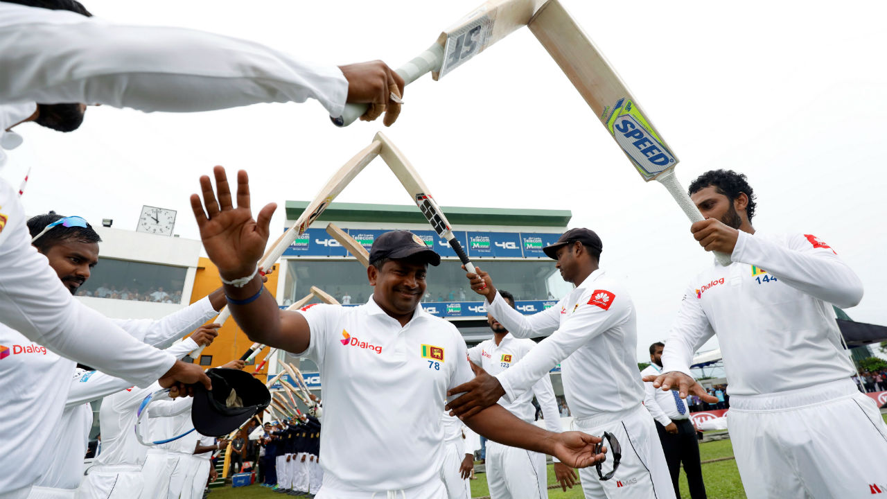 Rangana Herath's retirement | Sri Lankan cricketer Rangana Herath announced his retirement from Test cricket. The spinner will end his career after the first Test match against England at Galle, Sri Lanka. Herath was the last cricketer who started playing the longest format at International level in the 90s. (Image: Reuters)