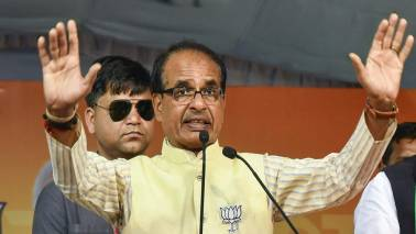 Sambal scheme cards with Shivraj Chouhan's pic not to be distributed