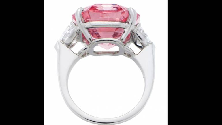 bfea13801 The Pink Legacy: 'World's greatest' pink diamond that could sell for ...