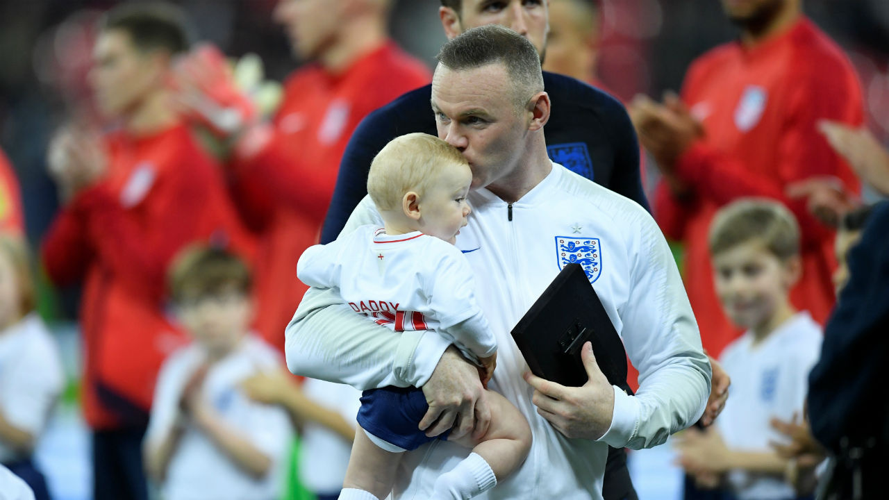Wayne Rooney made his final appearance for 'The Three Lions' during a 3-0 win over the USA in a friendly at the Wembley stadium. England's record goalscorer was handed the captain's armband when he came on in the second half, earning his 120th and final cap. He donned his favourite number 10 jersey on the occasion. (Image: Reuters)