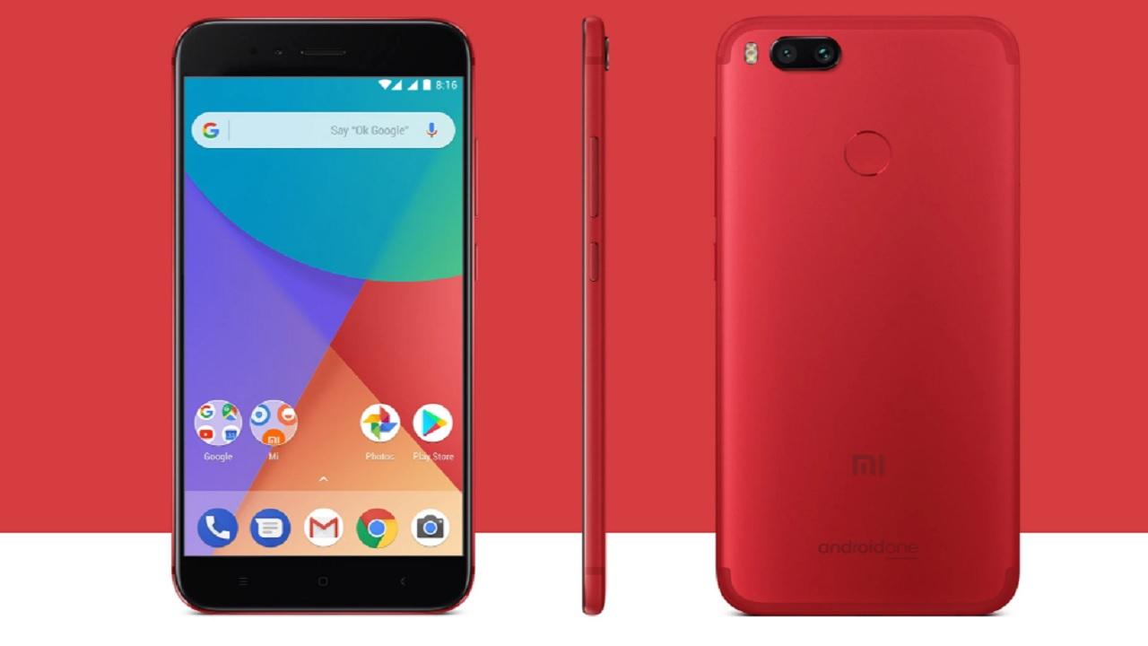 No. 1 | Xiaomi Mi A1 | SAR value: 1.75 (Image: mi.com)