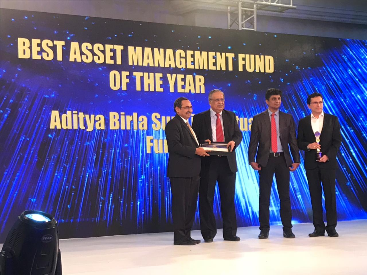 Best asset management fund of the year: Aditya Birla Sun Life Mutual Fund | Formed in 1994, Aditya Birla Sun Life Mutual Fund is a joint venture between the Aditya Birla Group and the Sun Life Financial Inc. of Canada. The fund house offers sector-specific equity schemes, fund of fund schemes, hybrid and monthly income funds, debt and treasury products, and offshore funds. In the last three years, the fund house has increased its penetration into smaller cities and has been in the top AUM quartile consistently for the past 3 years. (Image: Moneycontrol)