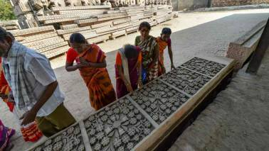 At Ayodhya's Karsevakpuram, 50% stone carving work of temple 'completed'; number of artisans dwindle