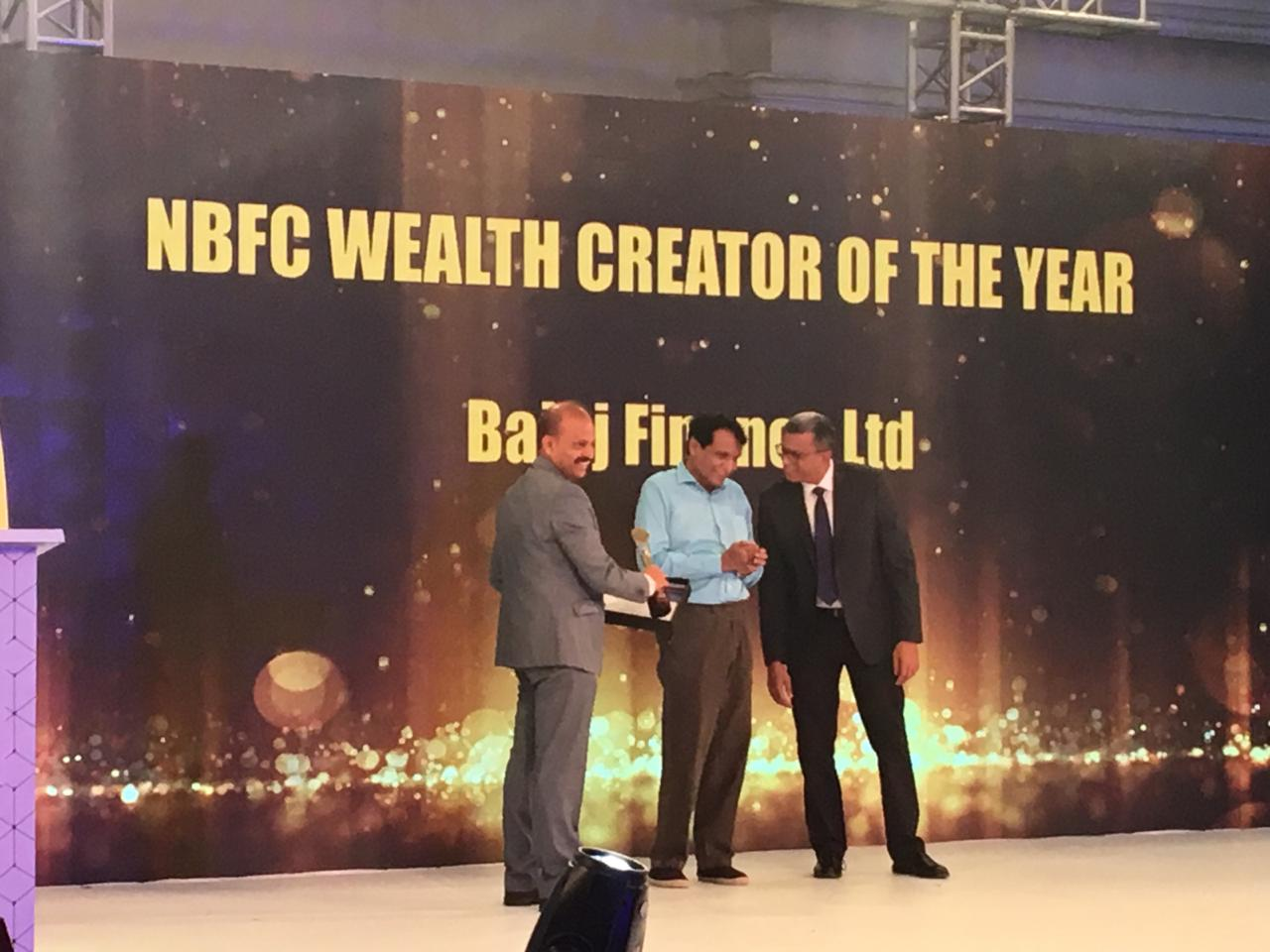 NBFC wealth creator of the year: Bajaj Finance Limited | Bajaj Finance Ltd, a subsidiary of Bajaj Finserv, is one of the fastest growing NBFCs dealing in Consumer Finance, SMEs (Small and Medium-sized Enterprises) and Commercial Lending, and Wealth Management. Founded by Rahul Bajaj in 1987, the Pune-headquartered NBFC is now led by Managing Director Rajeev Jain. In Q2 FY19, its consolidated net profit grew 54 percent to Rs 923 crore. Its assets under management grew 52 times over the last 12 years. (Image: Moneycontrol)