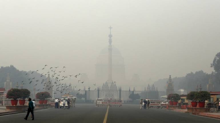 Air Pollution Linked To Slower >> Delhi S Air Quality Oscillating Between Very Poor Severe