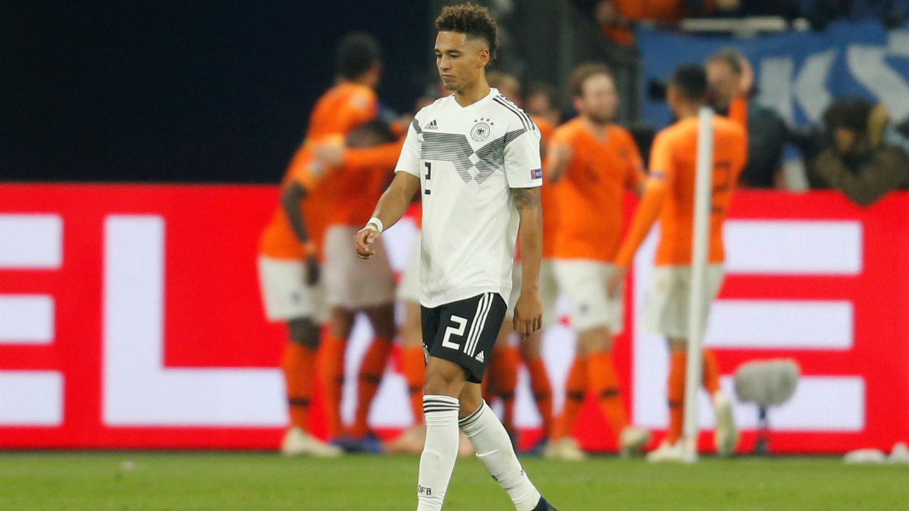 Germany let go of a 2-0 lead against the Netherlands with just five minutes of regulation time left on the clock. Quincy Promes scored in the 85th minute before Virgil van Dijk equalized in the final minute of the game to rescue a point and secure a place for the Dutch in the finals of the UEFA Nations League in Portugal next year. (Image: Reuters)