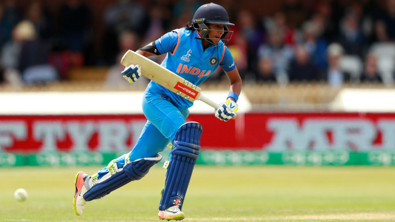 A young Harmanpreet used to practise cricket shots with a hockey stick before going on to train at a cricket academy which was 30 km away from her home. Her family couldn't afford the academy fees which was then funded by Kamaldheesh Sodhi who set up the academy. (Image: Reuters)