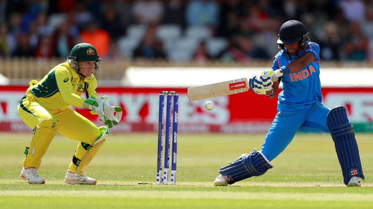 Harmanpreet shot to fame in 2017 when her unbeaten 177 against Australia in the semifinal helped India progress to finals of the Women's World Cup. That knock also means that Harmanpreet holds the record for the highest individual score by an Indian player at the Women's World Cup. (Image: Reuters)