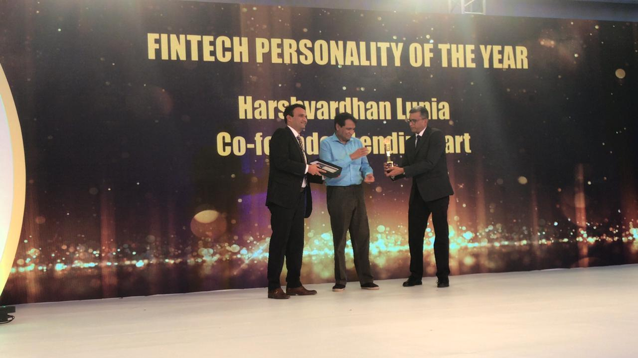 Fintech personality of the year: Harshvardhan Lunia, Founder of Lendingkart Technologies | As a banker Harshvardhan Lunia was intrigued by the question of why small business owners, who in spite of being credit worthy, were not served by existing lenders. Lunia co-founded Lendingkart Technologies with Mukul Sachan. The venture is revolutionizing the way small businesses access credit. The company uses technology and analytics tools, analyzing thousands of data points from various data sources to assess the creditworthiness of small businesses, rapidly and accurately. Now an SME can get a loan within 3 days. Lendingkart has helped over 12,500 small companies across 950 cities in getting loans and expanding their businesses. (Image: Moneycontrol)