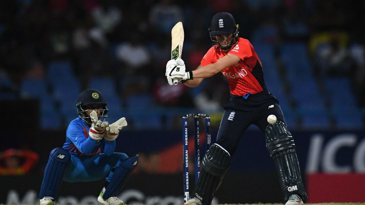 Following the loss of their openers, Amy Jones and Natalie Sciver stitched together an unbeaten 92-run partnership to give England an eight-wicket win with 17 balls remaining. Unlike the Indians, Jones and Sciver played deep in their crease which made it easier for them against the Indian spinners. (Image: Icc-cricket.com)