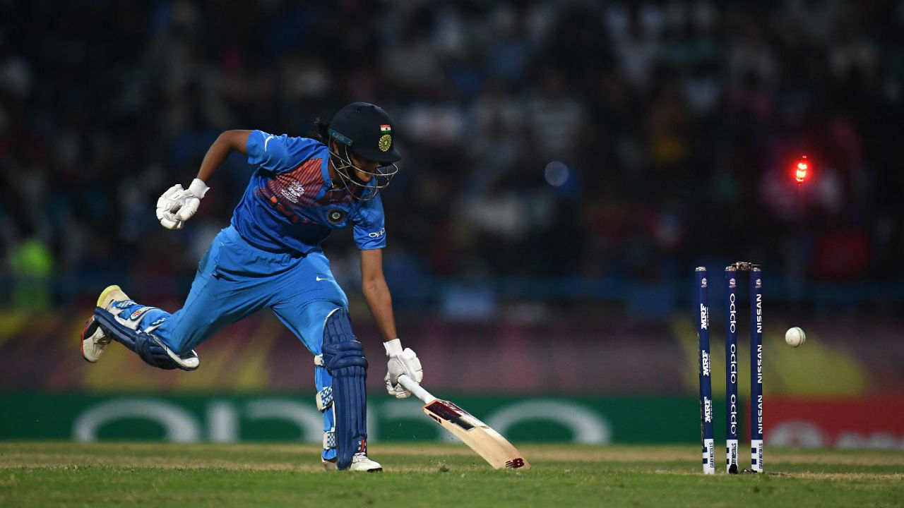 India ended up losing their last eight wickets for just 24 runs as seven players failed to get double digit scores. They were bowled out for a below-par total of 112 in 19.2 overs. (Image: Icc-cricket.com)